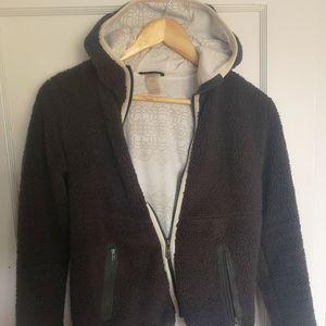 Hally Hansen fuzzy fleece lined sweater
